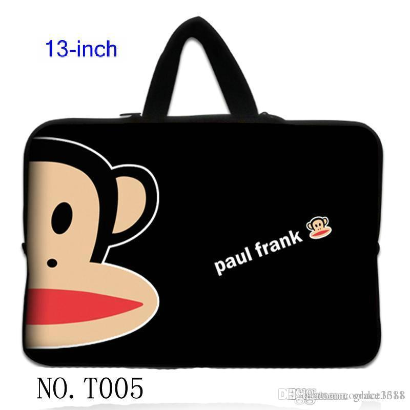 Black Monkey Netbook Laptop Sleeve Case Carry Bag Pouch For 13