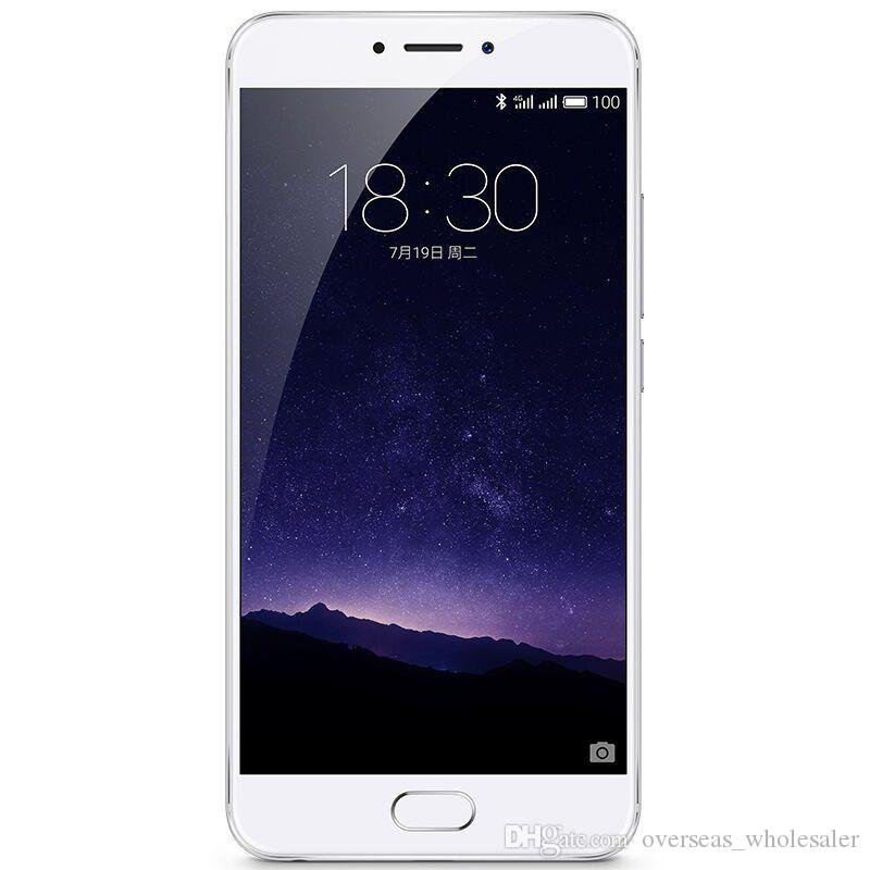Original Meizu MX6 Firmware Mobile Phone MTK Helio X20 Deca Core 3GB/4GB RAM 32GB ROM Android 6.0 5.5 inch 2.5D Glass 12MP mTouch Cell Phone