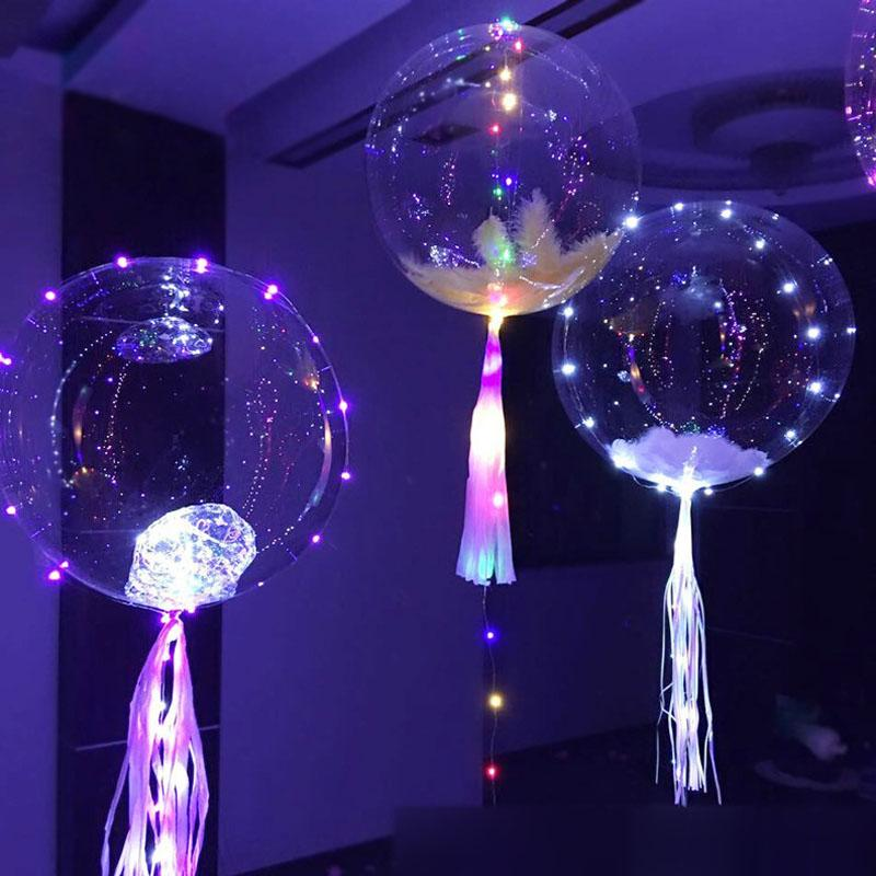 18 inch Transparent PVC Latex Balloons Party Ballons Decoration For Wedding Dinner Christmas With Free Shipping