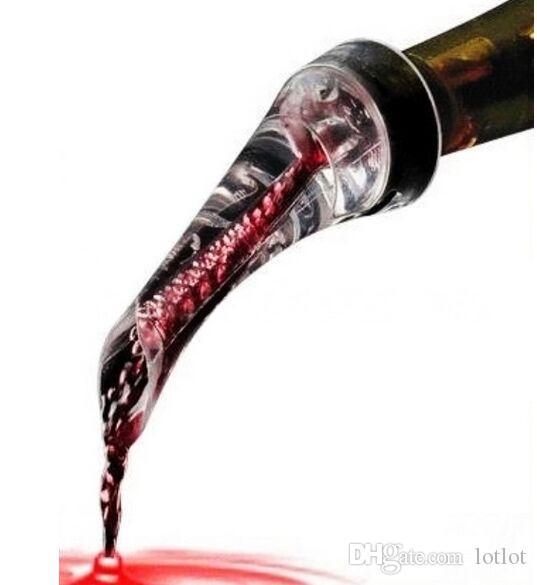Olecranon Vin Rouge Carafe Rapide Aérateur Verseur Décanteur Accessoires Vin Olecranon Bec verseur Bouteille Populaire