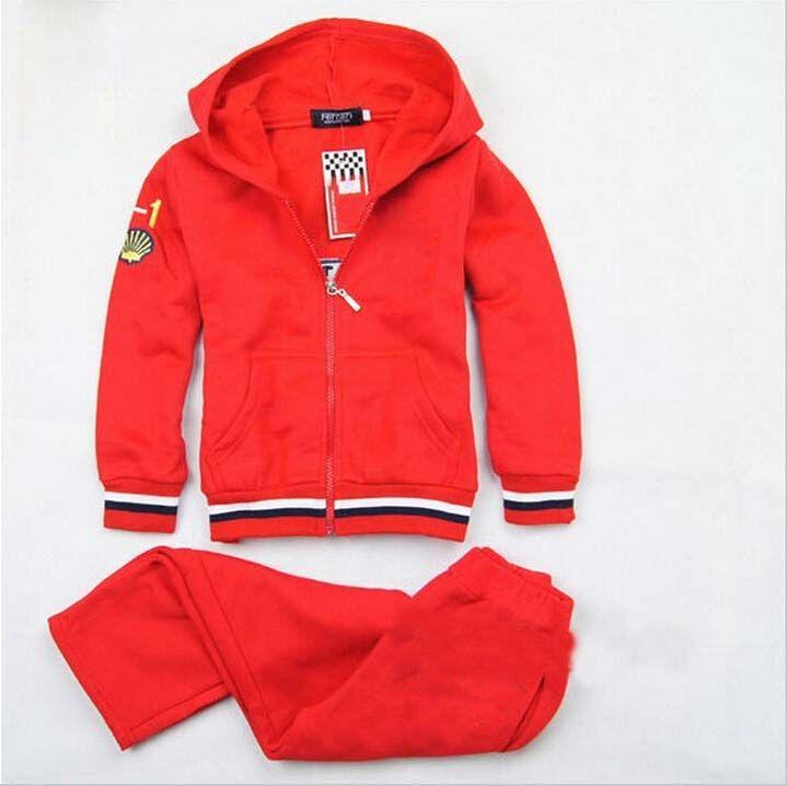 5c5b4cac21ba 2019 Baby Girls Boys Sport Suit Kids Sets Coat And Pant Children ...