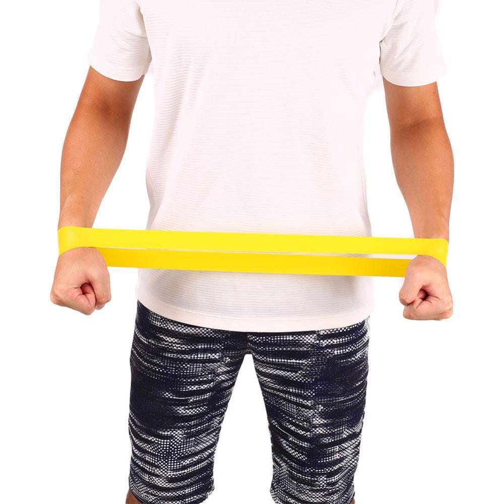 Контроль сопротивления Ленточная ленточная веревка для упругих упражнений латексные резиновые ноги мышцы жеребьевки Фитнес домашний тренажерный зал Учение Crossfit подтягивает расширение
