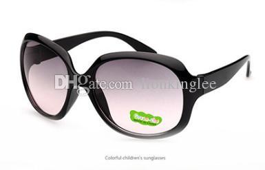 النظارات الشمسية الجديدة للأطفال الصغار الأطفال إطار نظارات شمسية بنات أولاد ظلال نظارات الطفل متعدد الألوان نظارات uv400 1212