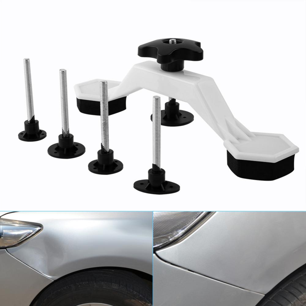 7 in 1 Set PDR Car Body Paintless Dent Repair Tools Puller & Glue Pulling Tabs With Tap Down Pen