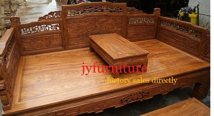 Luxury Wood Furniture Set Seat Set Home Casual Bed Animal