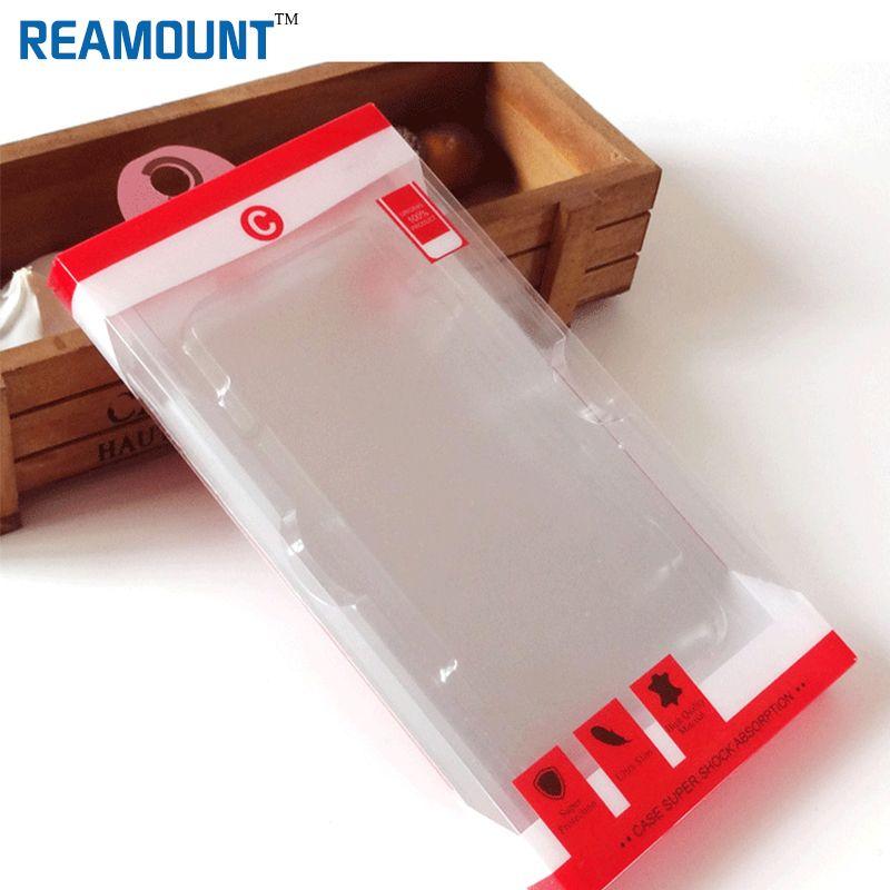 scatola di imballaggio in PVC di alta qualità all'ingrosso per la copertura della cassa del telefono mobile per iphone 6 6 più copertura della cassa del telefono con vassoio interno