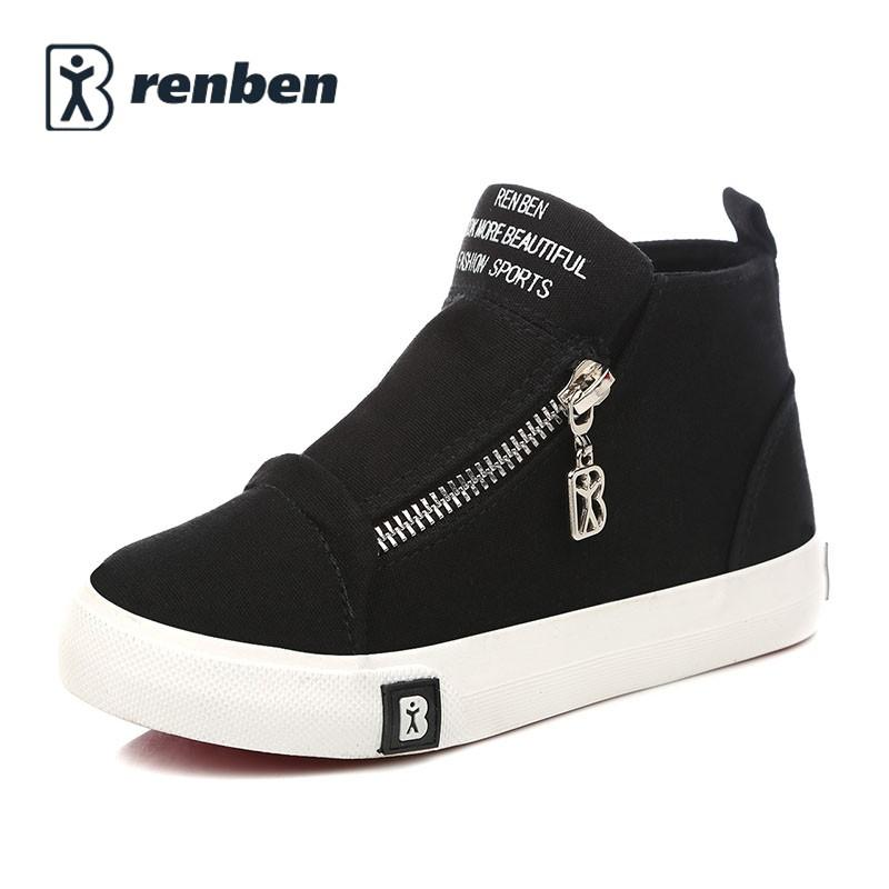 many fashionable discount collection 100% quality Kids Canvas Shoes Girls Sneakers 2017 New Spring Summer Children Shoes Boys  Shoes High Leisure Fashion Kids Sneakers Casual Shoe Toddler Girl Shoes ...