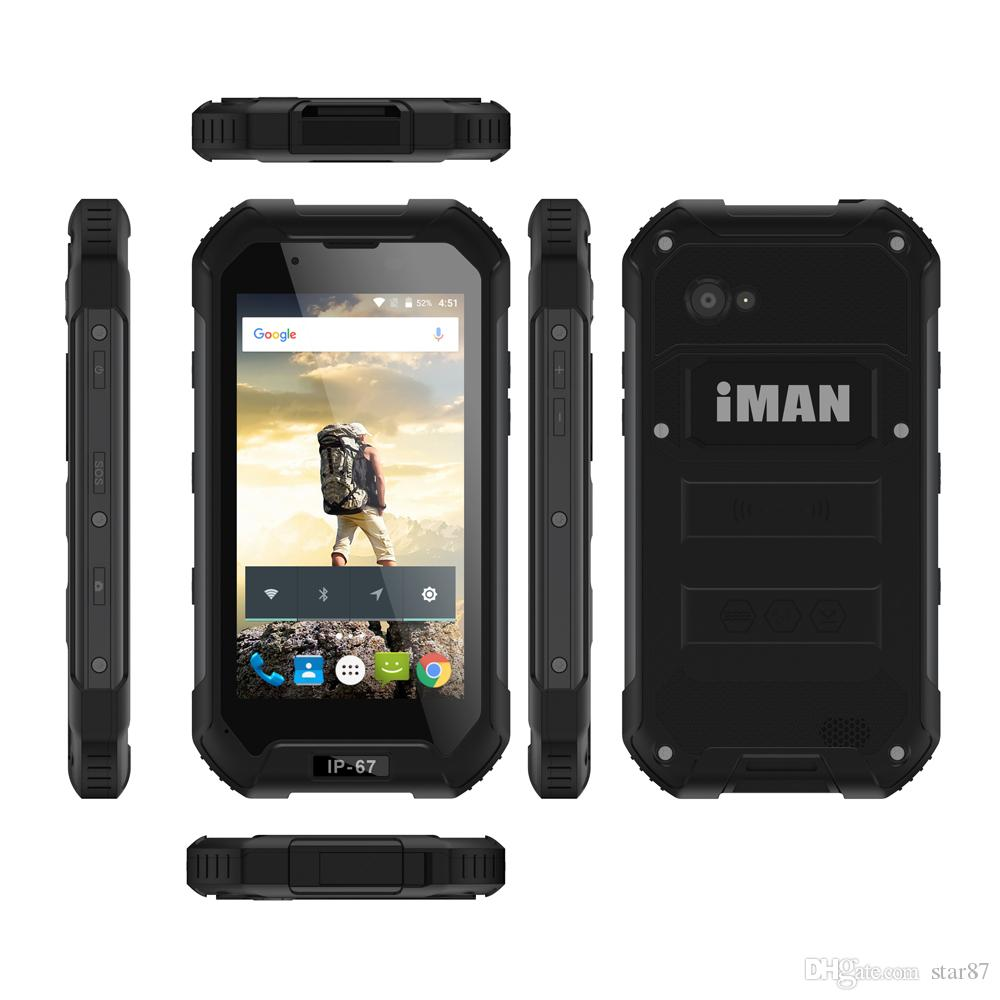 Best IMAN X5 Men Real IP 68 Waterproof Shockproof 3G Android Smartphone  MTK6582 Quad Core 4 5 Inch IPS 1GB RAM 8GB ROM 5MP Cell Phone Best Apps For
