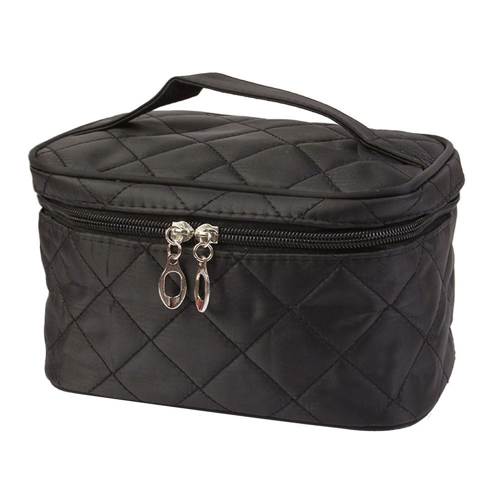 Maquiagem Alto Sólido Sólido Cosmético Saco Protable Atacado - Meninas Organizador Bag Capacidade de Viagem Maquiagem Bags Bags Heartry OUKC