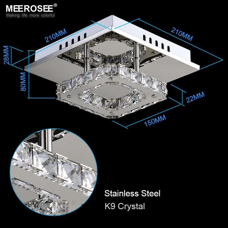 الحديثة بقيادة الكريستال ضوء السقف لاعبا اساسيا ساحة الصمام مصباح كريستال لممر الممر Asile LED إضاءة شحن سريع