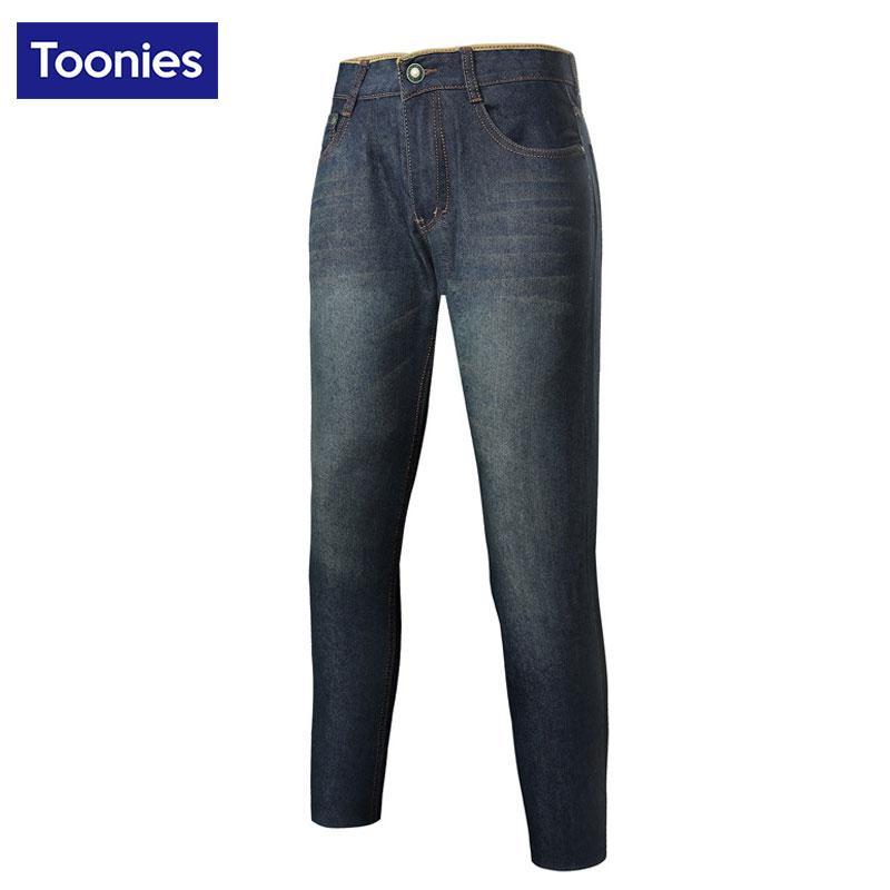 Vente en gros Jeans pour hommes Pantalons droits Hommes Bleu Plus Size 28-38 Full Length Marque Vêtements Casual Denim Pantalon Printemps Eté Jean Pantalon