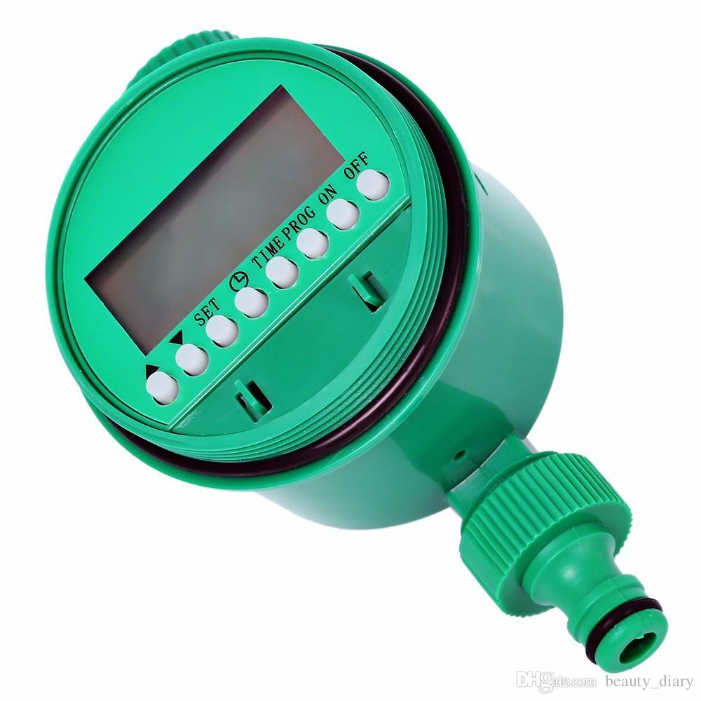 LCD Display Automatic Intelligent Electronic Garden Water Timer Rubber Solenoid Valve Irrigation Sprinkler Control Gasket Design