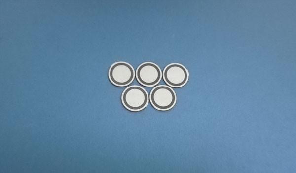 Diffusore in ceramica piezozoidale del trasduttore di atomizzazione dello spruzzo del nebulizzatore del disco del nebulizzatore di ultrasuono di 20mm di Piezo di 1.7mm