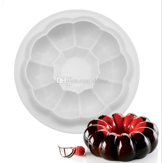 Silicone Round Garland Champion Molds Mold Cake Decorating Tools For Pans Baking Brownie Chiffon Sponge Cakes Pan