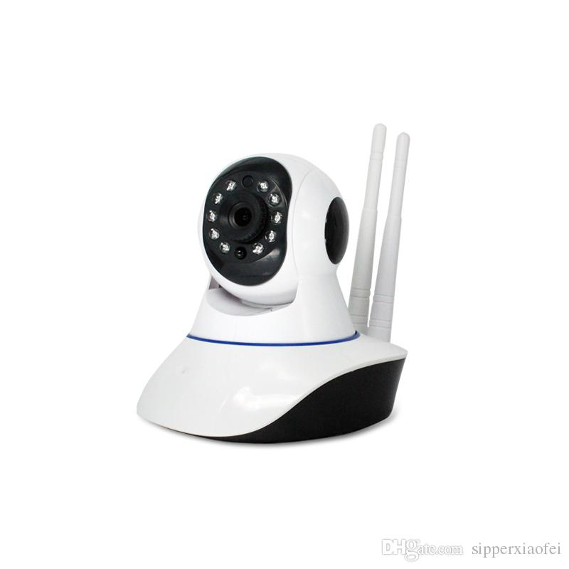 HD 720P 360 Eye Degree Panoramic WIFI Camera IP P2P Cam H 264 IR Night  Vision 1 MP 3 66MM Lens For Home Office Security Camera Online Camera  Online
