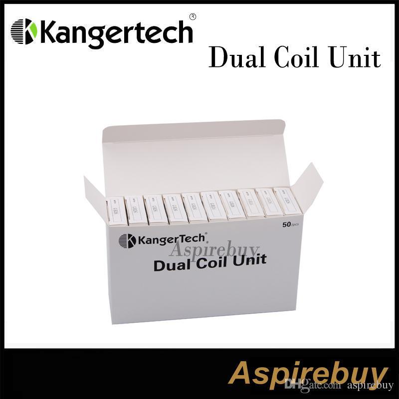 Authentische Kanger Doppelspule für Aerotank / Aerotank Mega / Aerotank Mini / Evod Glas / Protank3 / Mini Protank3 / EMOW