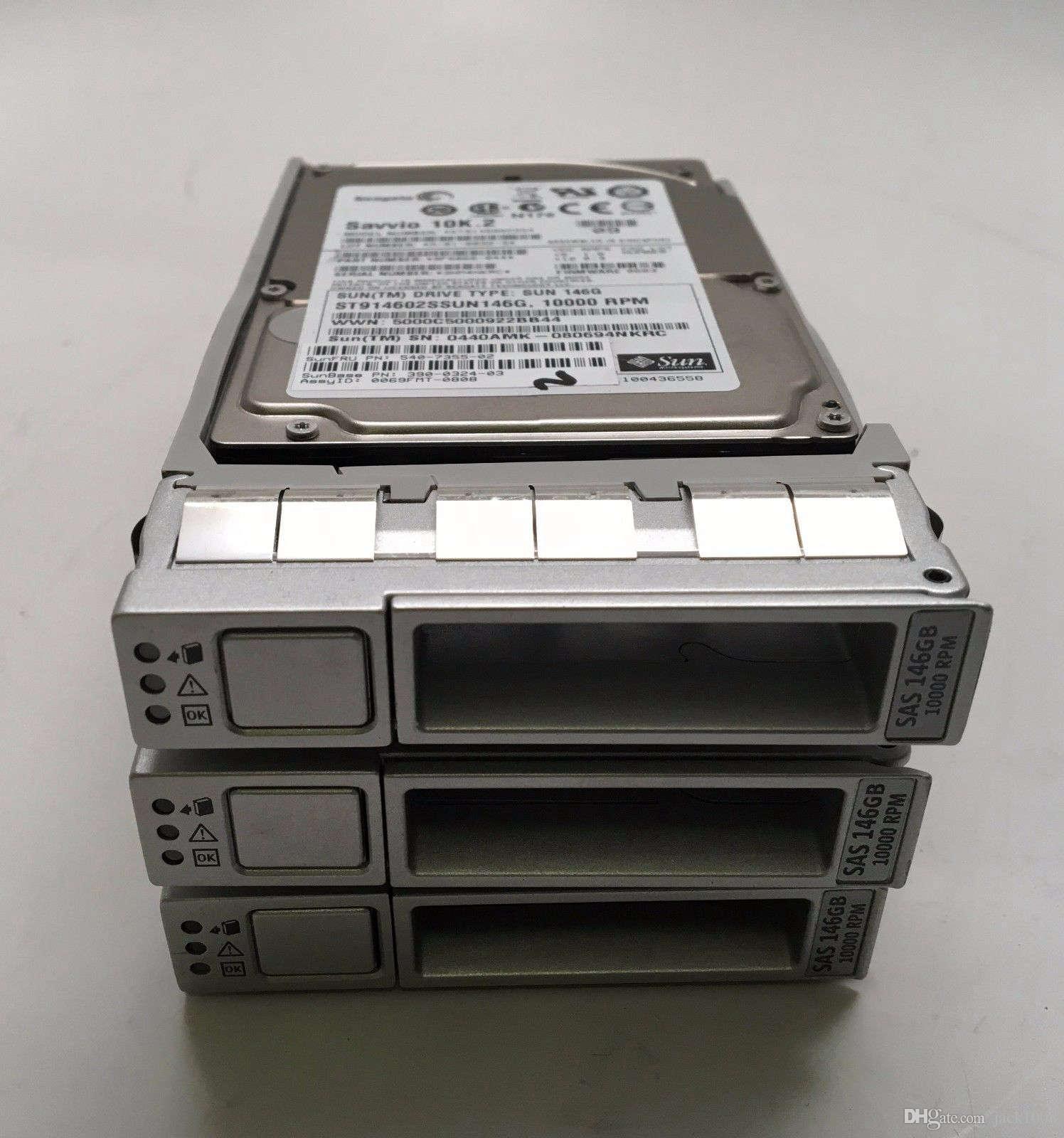 Sun 540-7355 146GB 10K  P//N 9F6066-044 SAS 2.5 HD Seagate ST9146802SS