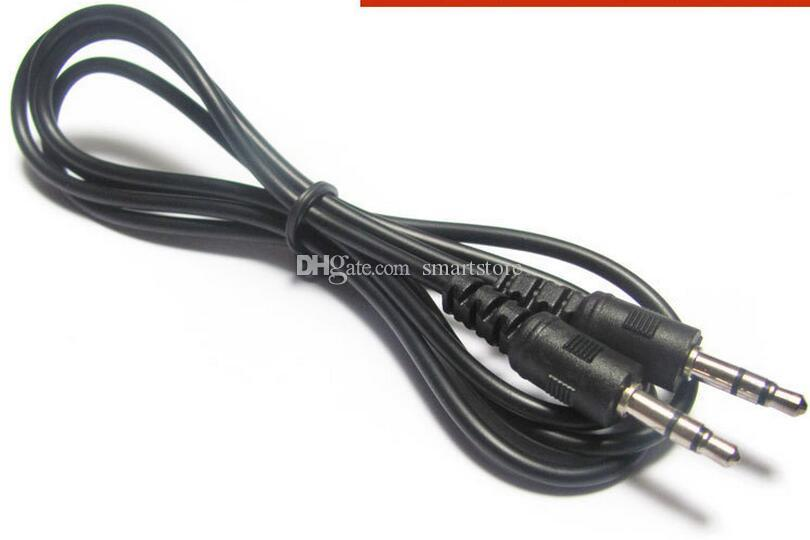 Audio cable stereo 3.5mm male to male 30Cm// 1ft PC Speaker MP3 AUX TV Sound line