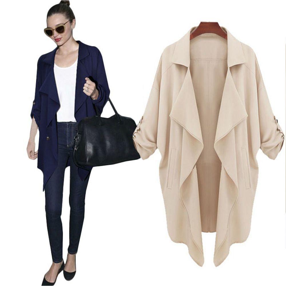 Women Casual Jacket Ladies Coat Autumn
