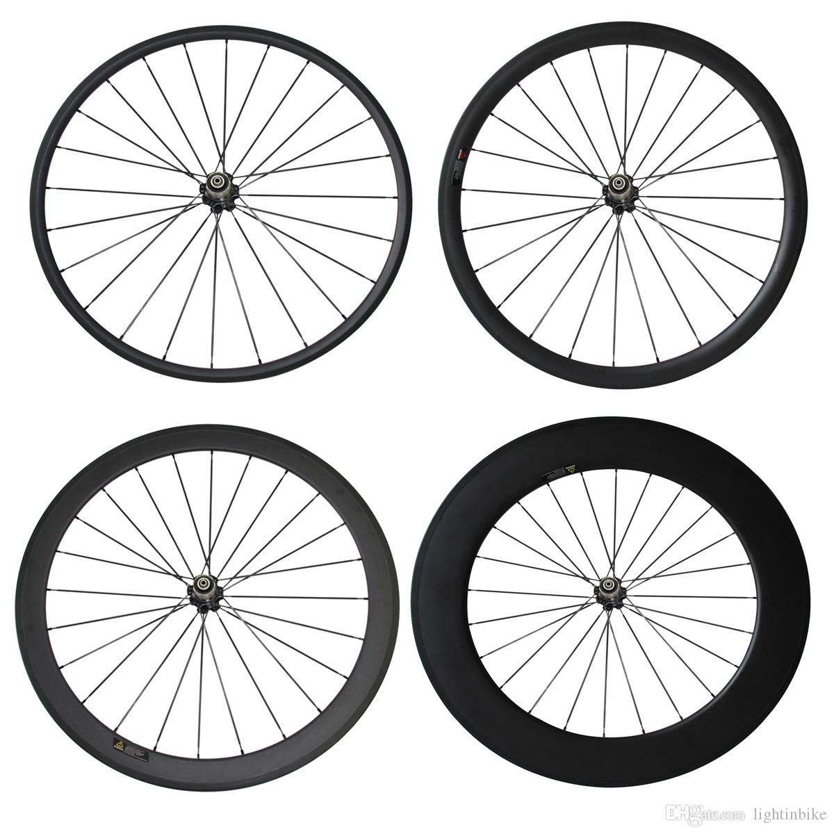 Carbon Wheel Novatec 271 700C 24mm 38mm 50mm 60mm 88mm Clincher Tubular Carbon Road Bike Bicycle Carbon Wheels Racing Only Rear Wheel