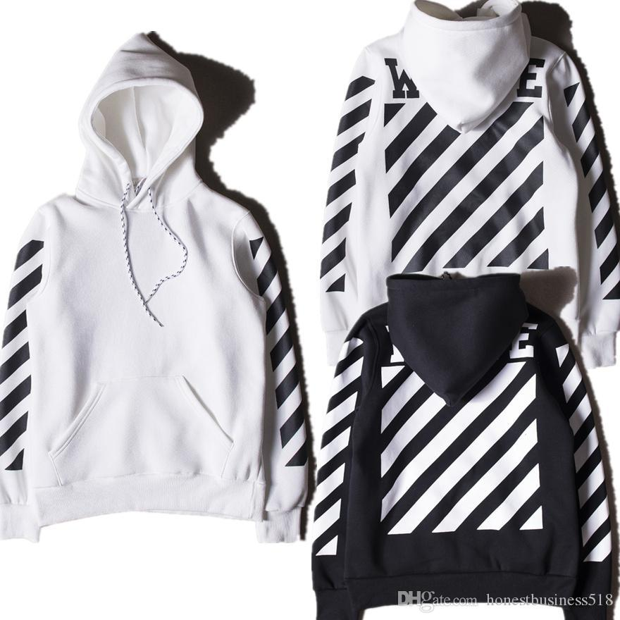 meistverkauft erstaunlicher Preis Professionel 2019 Off White Hoodies Men Women High Quality Kanye West Off White Abloh  Virgil Hoodie Sweatshirt Pullover Off White Hoodies From Honestbusiness518,  ...