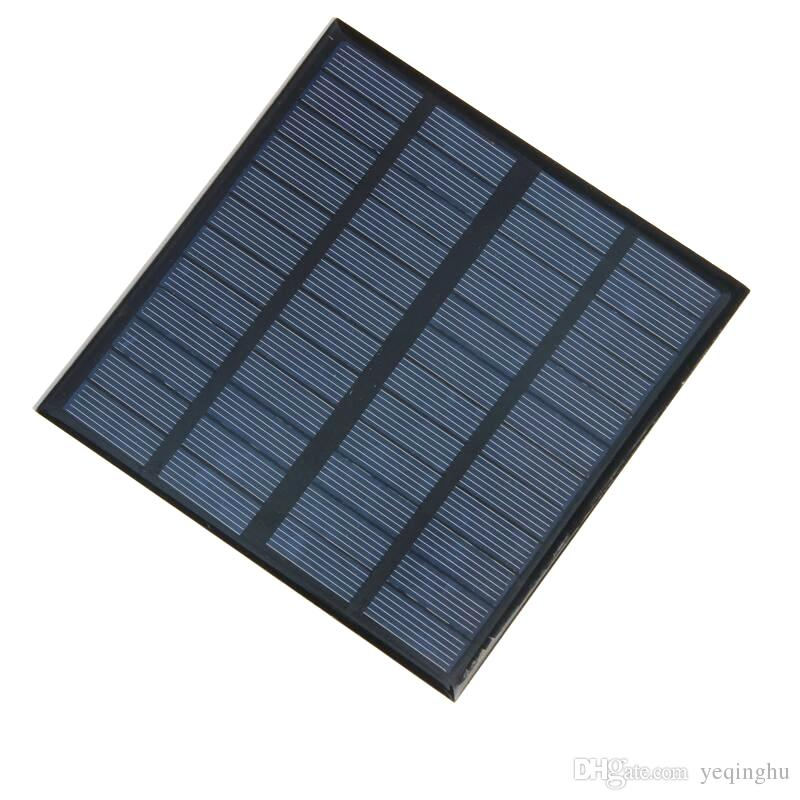 높은 품질 3W 12V 미니 태양 전지 다결정 태양 전지 패널 전원 배터리 충전기 145 * 145 * 3MM 10pcs / lot 도매