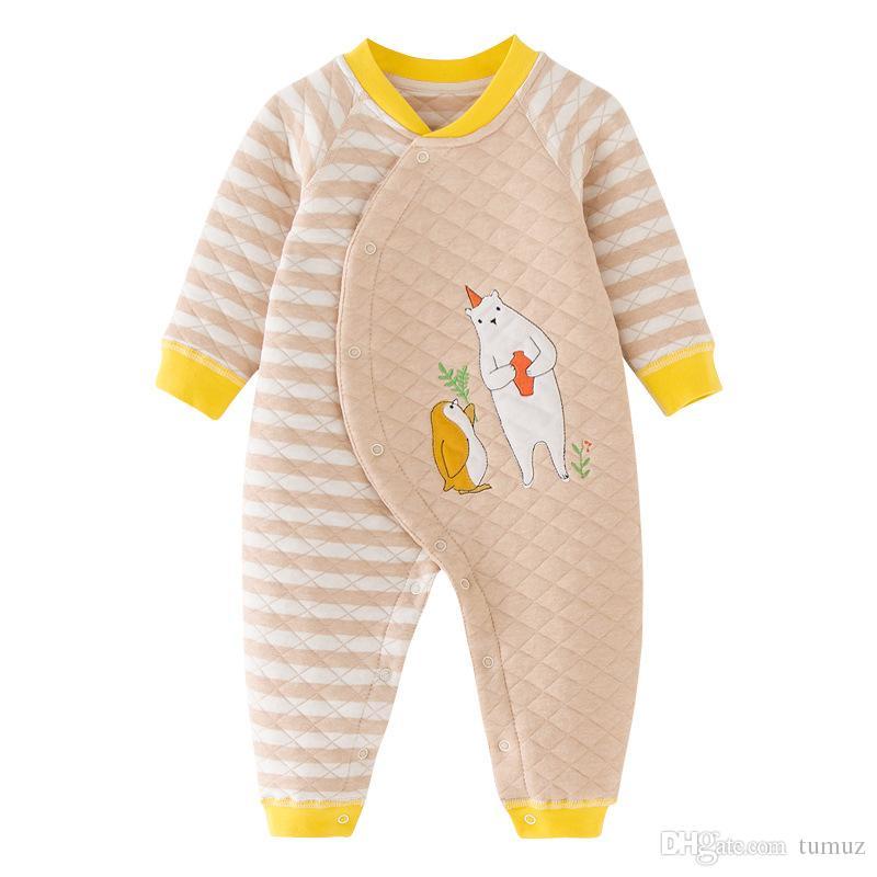 طفل حللا السروال القصير ، الخريف والشتاء ثوب دافئ ، الذكور والإناث طفل طويل الأكمام ، والقطن