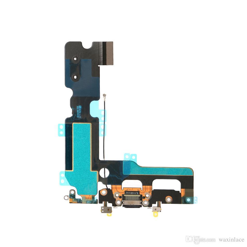 Para Apple Iphone 7 mini-4.7 7 mais 5,5 carregamento porta USB Flex cabo do conector dock Headphone Áudio Jack Cabo Flex