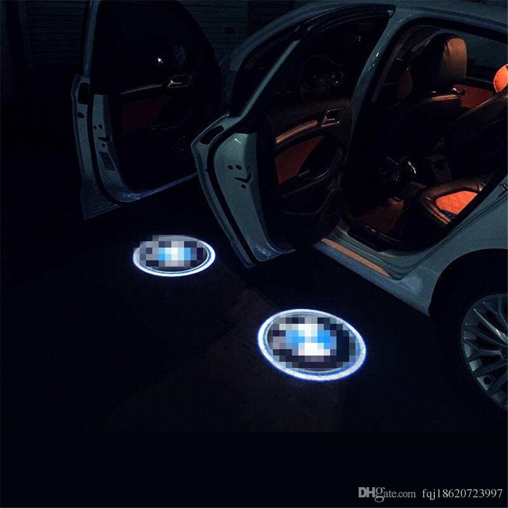 Case For Peugeot Case For Citroen Car Logo Led Interior Lights Welcome Door Ghost Shadow Lamps 12v Led Emergency Vehicle Lighting Led Emergency