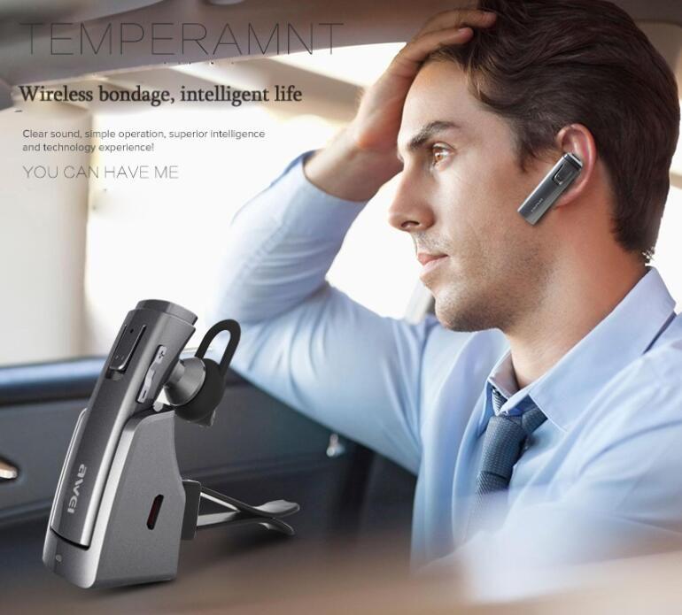 AWEI A833BL 블루투스 이어폰 무선 스테레오 헤드폰 헤드셋 이어 버드 핸즈프리 Fone de ouvido Auriculares Ecouteur Cuffie