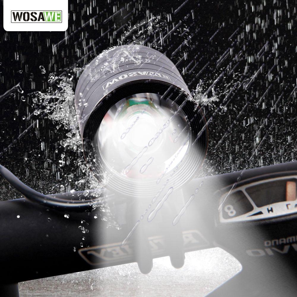 WOSAWE 1200 Lumen XMK T6 Fahrradbeleuchtung Lampe Wasserdichte LED Radfahren Fahrrad Front Light Taschenlampe Mit USB + DV Kabel BCD-002