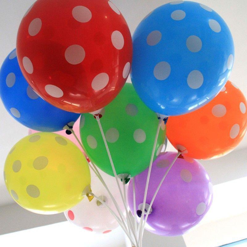 100 UNIDS 12 pulgadas 10 Colores Grandes Globos de Látex Decoración de Fiesta Globos de Colores Brillantes Boda Fiesta de Cumpleaños Globos Bolas de Aire