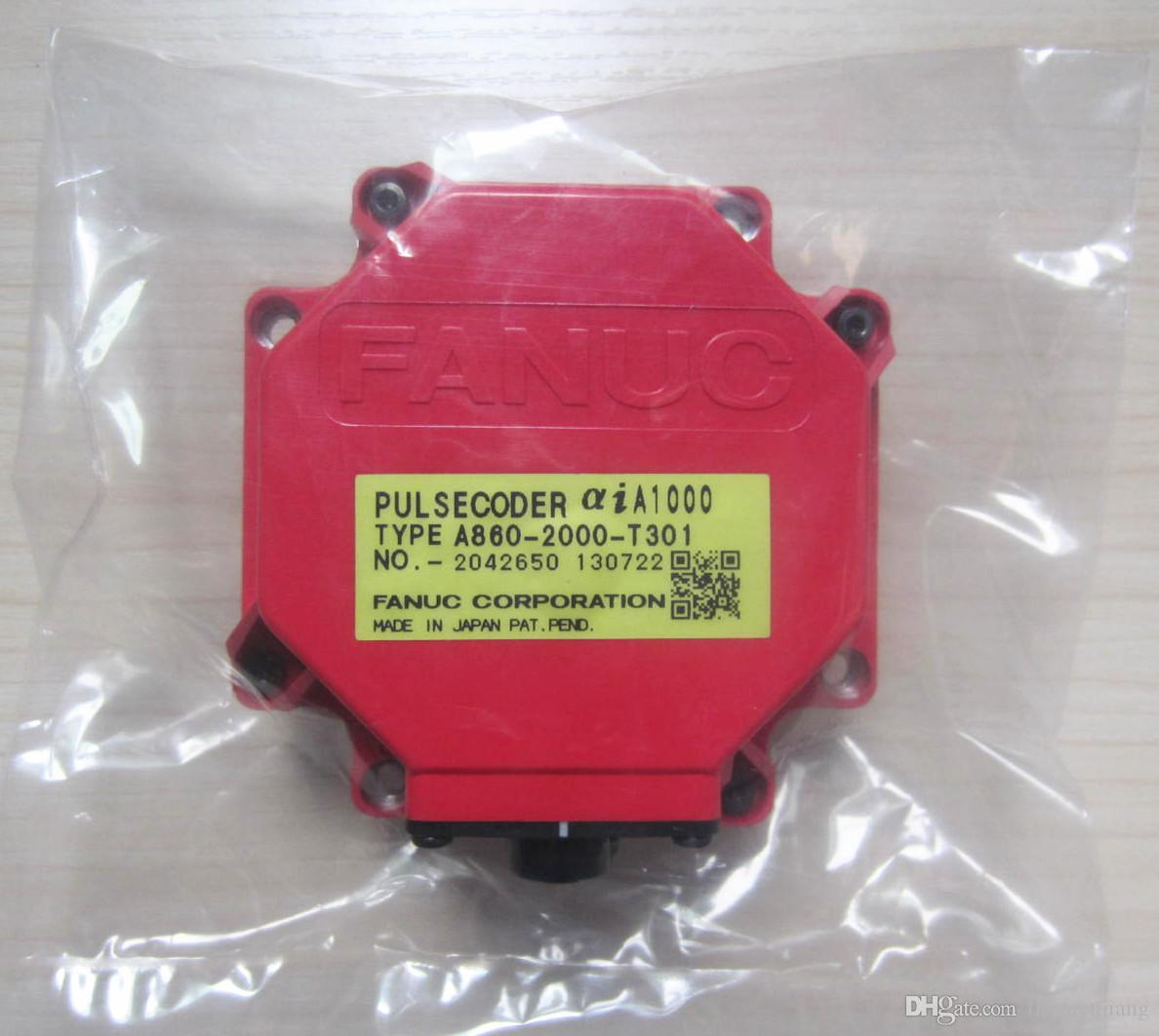 1 PC Original Fanuc A860-2000-T301 Servo Motor Encoder Pulse Coder Free Expedited Shipping New/Used Test In Good Condition