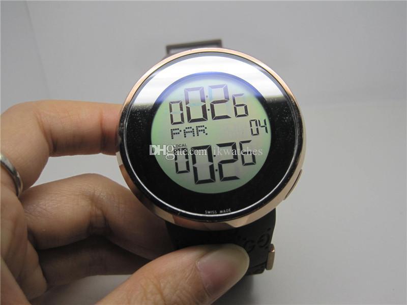 موضة جديدة ساعة رقمية أعلى جودة الكوارتز ساعات للرجال المطاط ساعة اليد G01