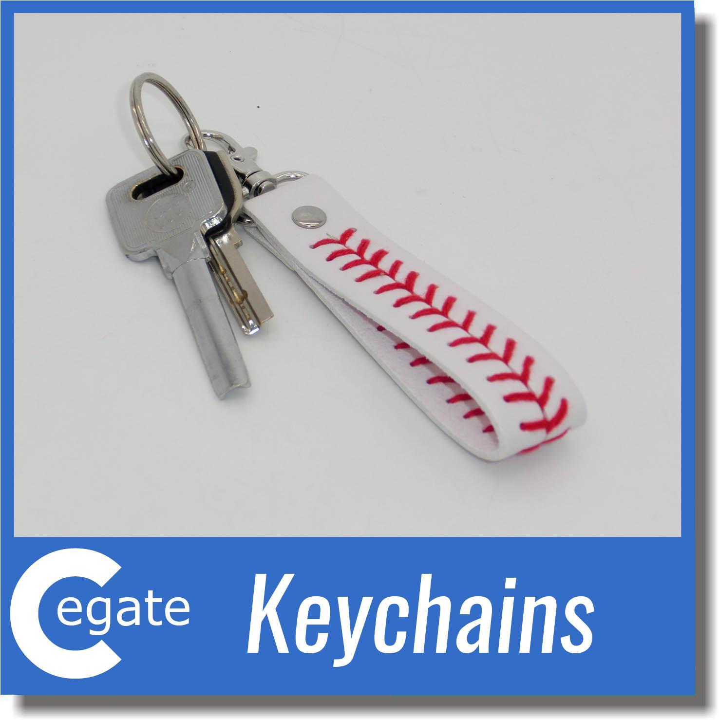 2016 factory is cheap baseball keychain,fastpitch softball accessories baseball seam keychains