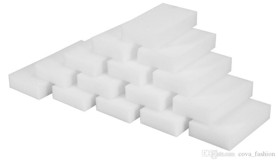 أبيض ماجيك ممحاة الإسفنج 100 * 60 * 20 مم يزيل الأوساخ الحطام صابون الأوساخ من جميع أنواع الأسطح Universal Cleaning Sponge