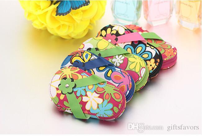 Flip Flop Pedicure Set Manicure Set Nail Set da sposa baby shower favori Regali per feste Spedizione gratuita