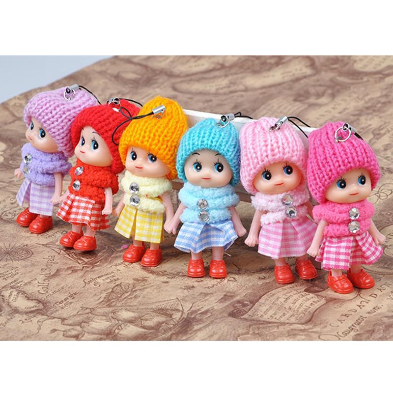 100Pcs/lot Kawaii Fashion Girls Toys Baby Dolls Interactive Beautiful Handmade Princess Dancing Girls Wedding Gifts For Girl 100Pcs/Lot 040
