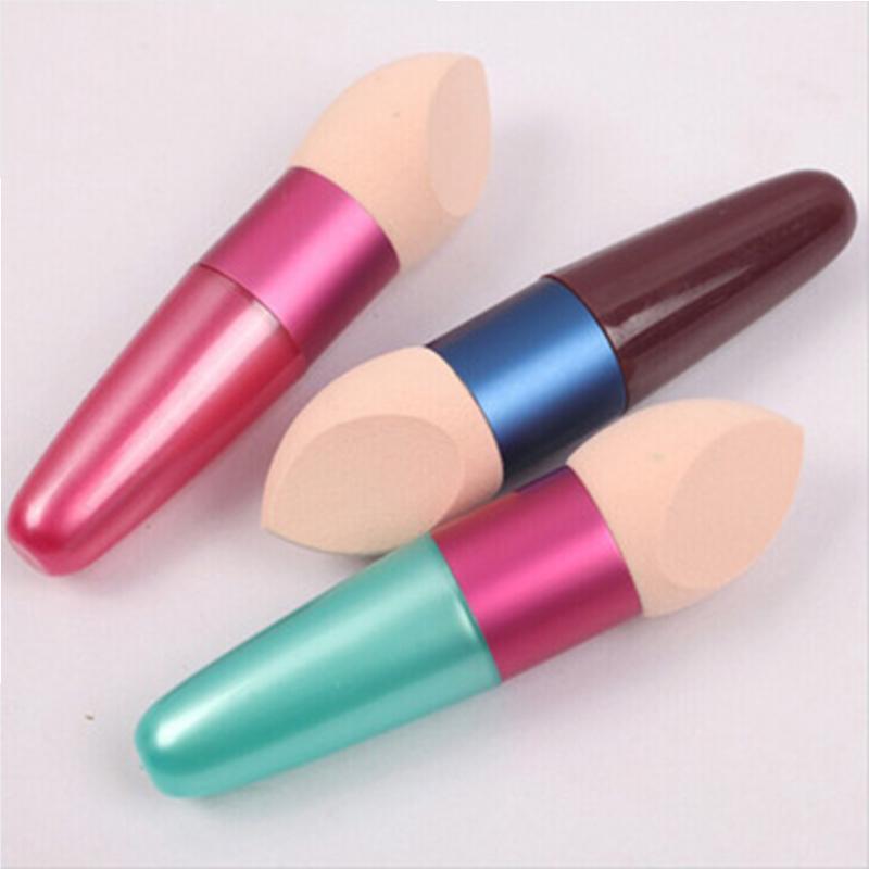 Toptan-Makyaj Kozmetik Lolipop Fırçalar Set Sünger Bırak Fırça Kremi Fondöten Kozmetik Makyaj Araçları Rastgele Renk