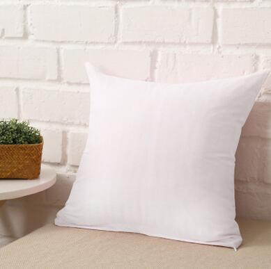 Pure Polyester White Pillow Cover Cushion Cover Decor Pillow Case Blank  Christmas Decor Gift 45 * 45CM Home Sofa Throw Patio Throw Pillows Patio ...