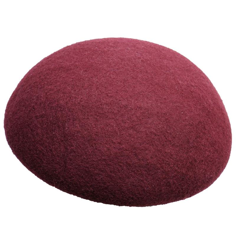 14cm Circle Button Wool Felt Hat Millinery Supply Fascinator Base Cocktail A263