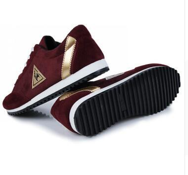 Venta caliente primavera nuevos hombres de la moda zapatos para hombre zapatos de lona zapatos respirables ocasionales