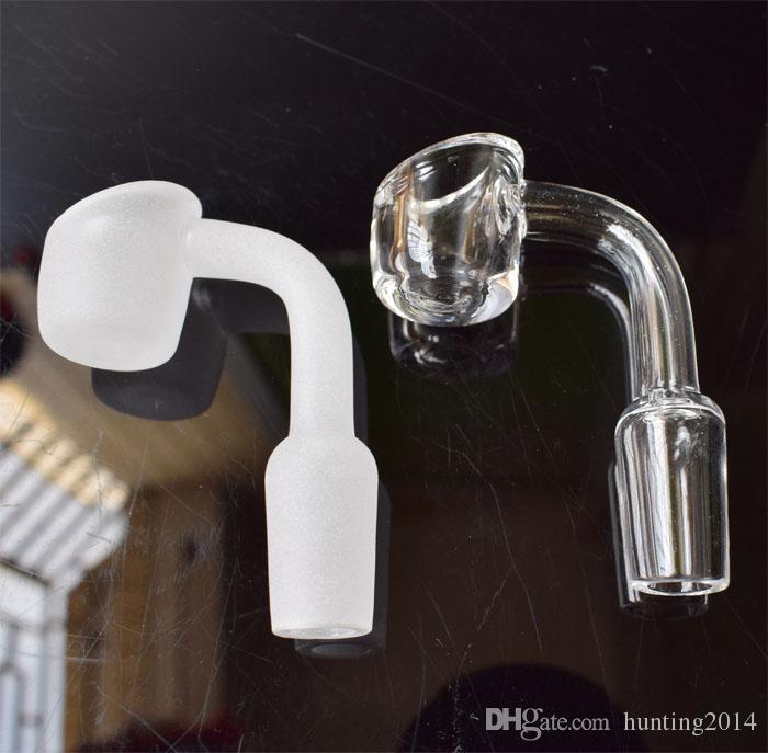 Женский мужской 10/14/18 мм кварцевый гвоздь толщиной 4 мм 100% чистого кварца Banger ногтей Domeless ногтей для стекла Бонг, быстрый корабль
