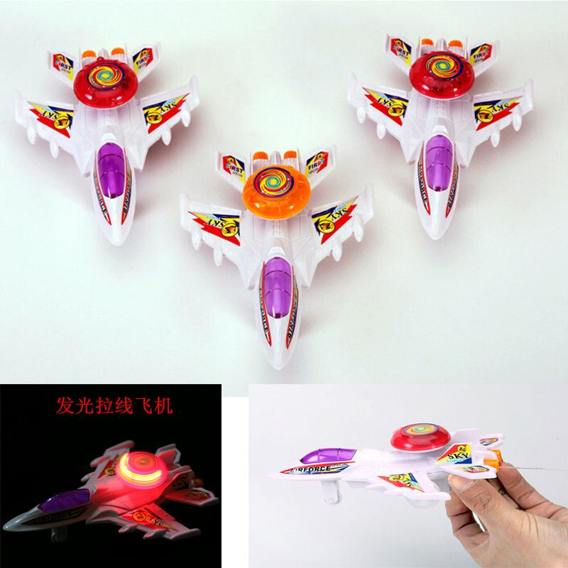 Wind-up pull, pull the plane children toy plane stalls selling toys Small toys gifts