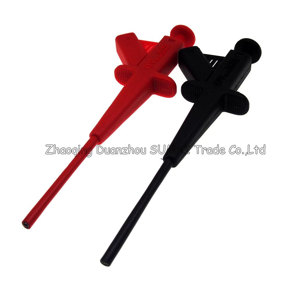 Multimeter & car industry test hook/clip with 4mm banana socket,Auto testing tool for car,CATIII 1000V/4A