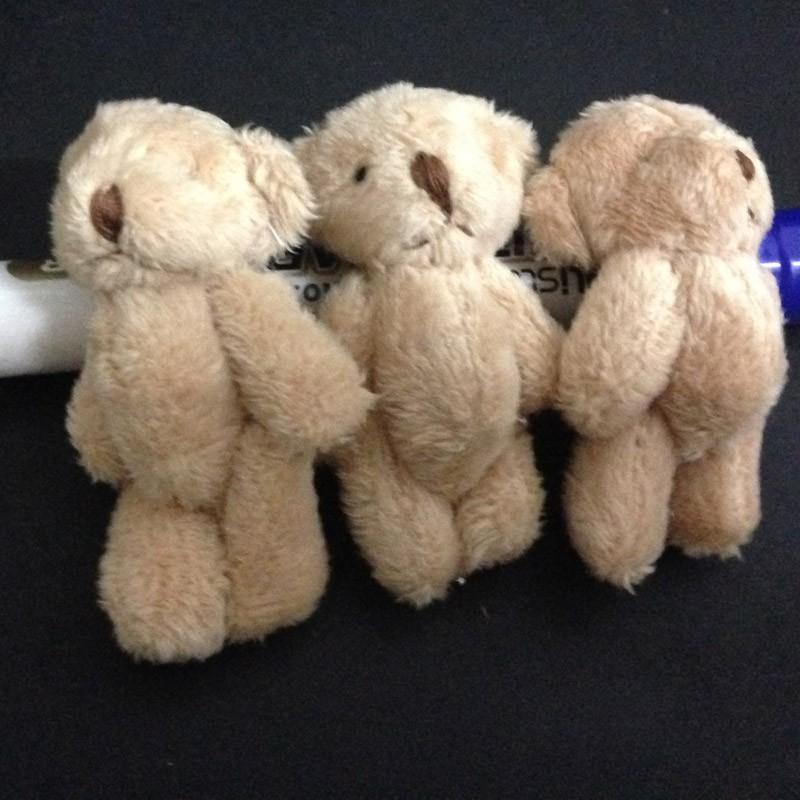 6CM long wool teddy bear 12