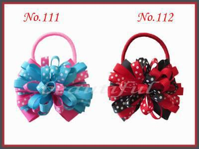 "177 100 BLESSING Good Girl Boutique 4/"" Fireworks Hair Bow Clip Accessories No"