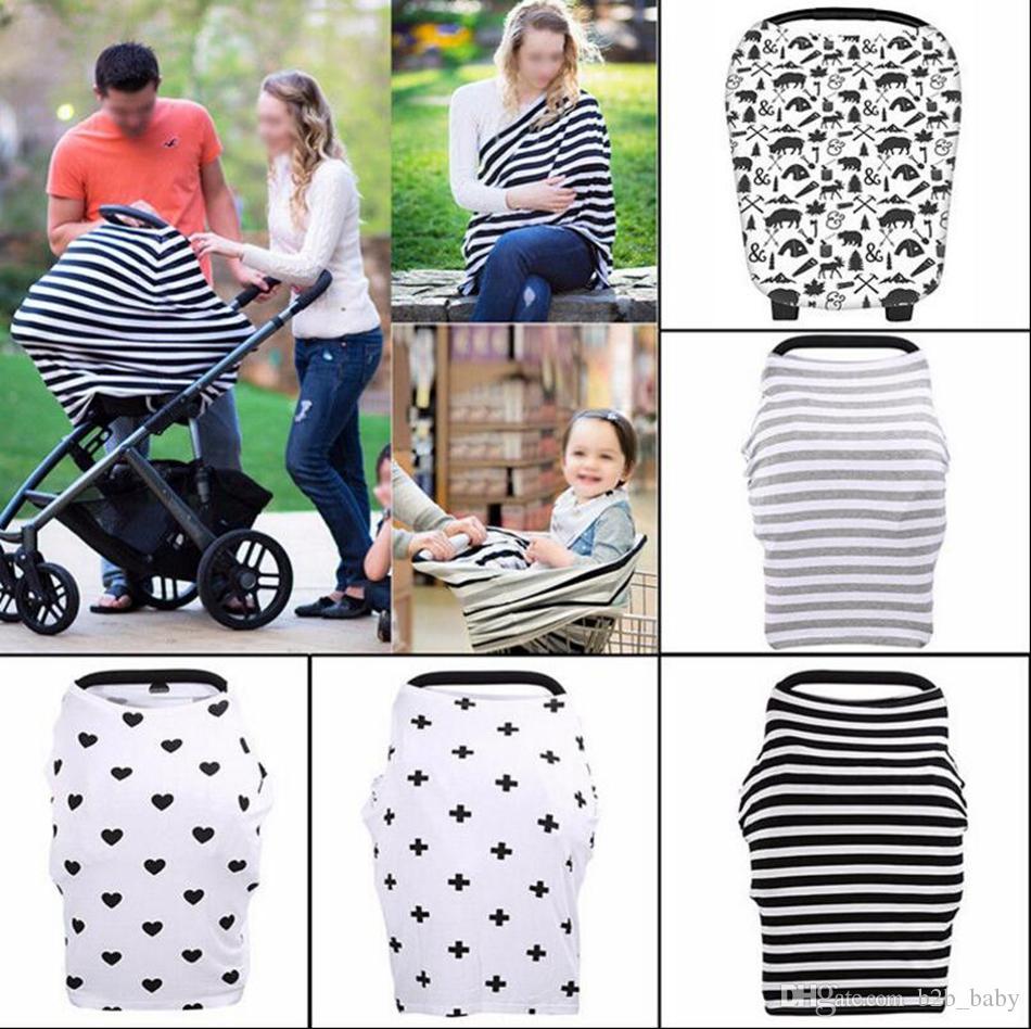 INS детское автокресло навес крышка грудного вскармливания уход шарф прикрыть фартук Shoping корзина детская коляска сна багги навес OOA2319