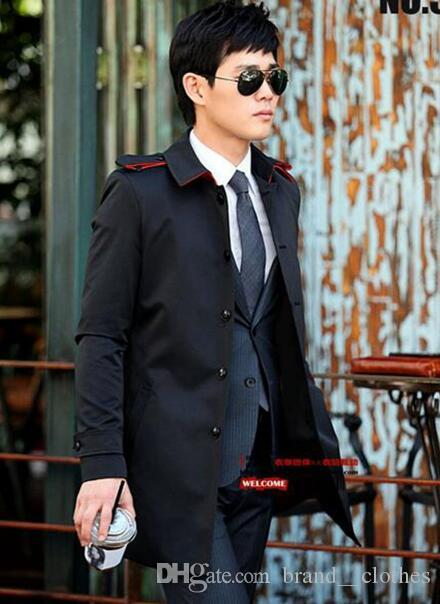 Han edition joker business men in the spring and autumn the new hot style boutique single-breasted jacket cloth coat / S-3XL
