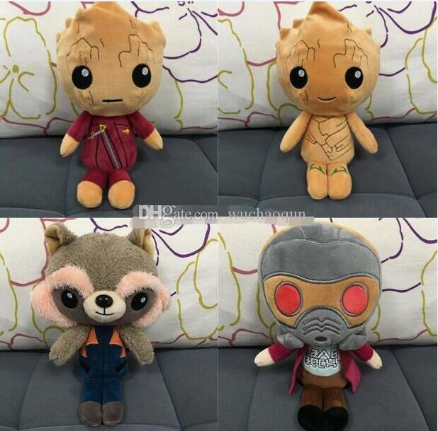 New Guardians of the Galaxy Plüschtiere Cartoon Groot Plüschtiere 22cm / 8,66 Zoll Plüschtiere Spielzeug Freie